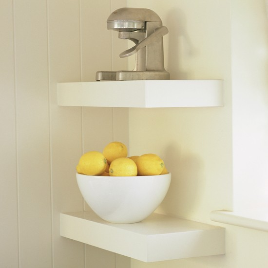 Be creative with corners best kitchen shelving ideas for Small kitchen shelves