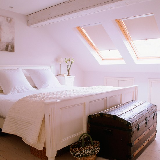 Bedroom | Stylish white terrace | House tour | Ideal Home | PHOTO GALLERY