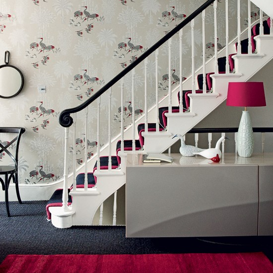 Add A Touch Of Colour 10 Wallpaper Ideas For Hallways