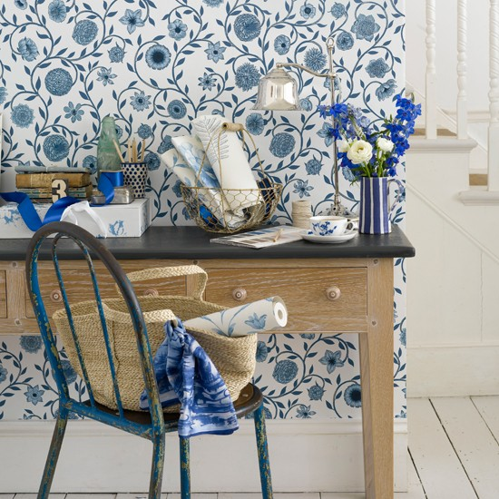 Zone out a workspace with wallpaper 10 wallpaper ideas for Home zone wallpaper blackheath