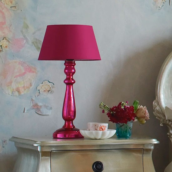 Pink mercury table lamp from graham and green table for 10 best table lamps