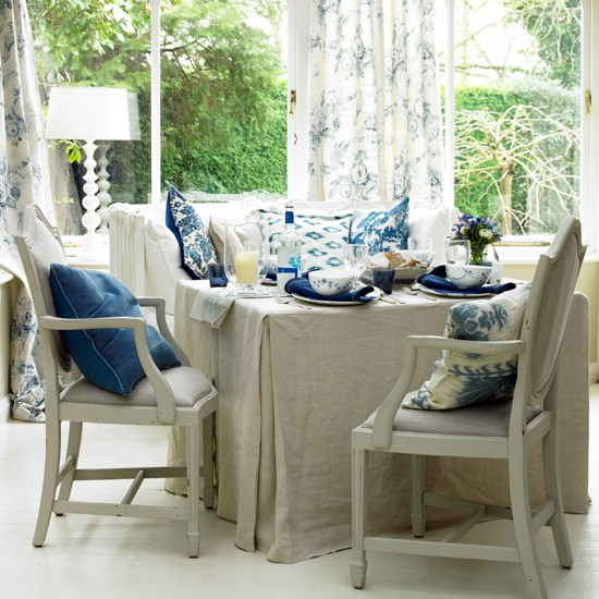 Floral seating conservatory | Conservatories | Conservatory decorating ideas | PHOTO GALLERY | Housetohome.co.uk
