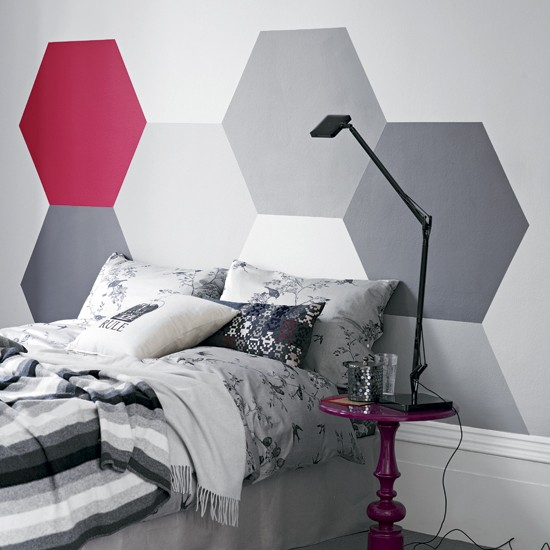 Modern bedroom headboard | Statement bedroom | Headboard | Image | Housetohome