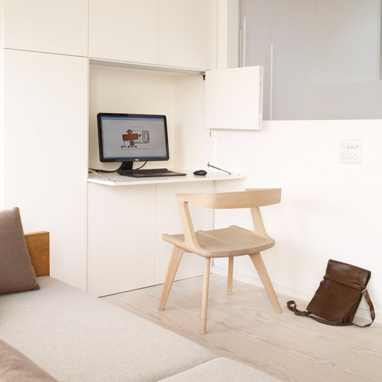 Hidden home office storage small home office design for Hidden home office ideas