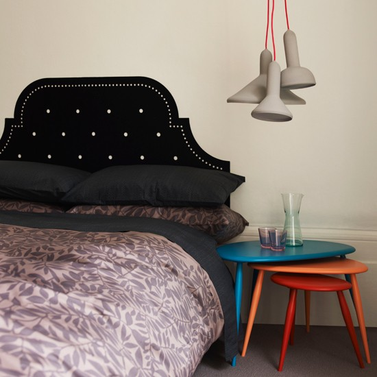 Glamorous bedroom headboard | Modern bedroom | Headboard | Image | Housetohome