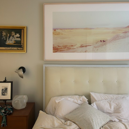 Soft white bedroom | Modern bedroom | Headboard | Image | Housetohome