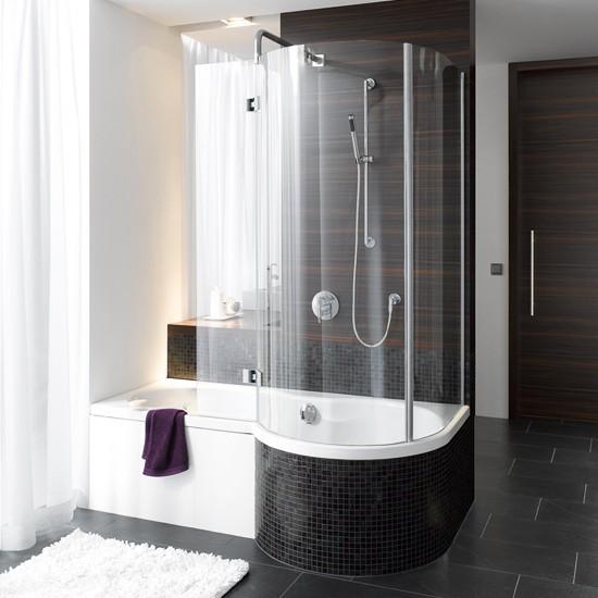 Shower baths 10 of the best for Shower over bath ideas