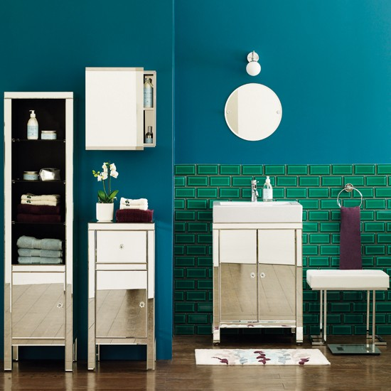 Mirrored collection from Marks and Spencer | bathroom furniture | 10 of the best bathroom furniture ranges | bathroom decorating ideas | bathroom ideas | bathroom furniture | housetohome