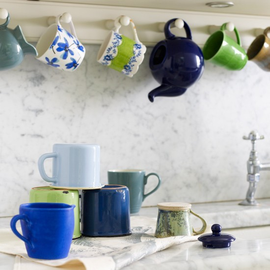 Colourful kitchen cups | Modern kitchen idea | Kitchen mugs | Image | Housetohome