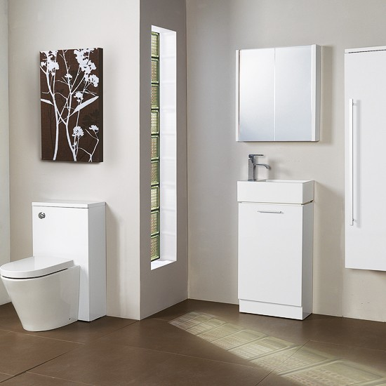 Compact range from Victoria Plumb | bathroom furniture | 10 of the best bathroom furniture ranges | bathroom decorating ideas | bathroom ideas | bathroom furniture | housetohome
