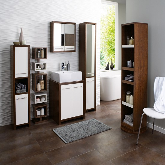 Tilson range from next small bathroom design ideas for Space saving bathroom ideas
