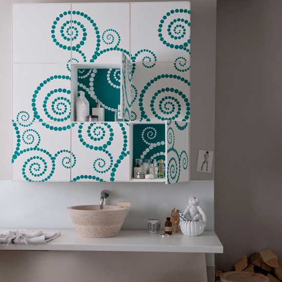 Go for statement storage | Add colour to your bathroom | Easy bathroom ideas | Bathroom | PHOTO GALLERY | Housetohome