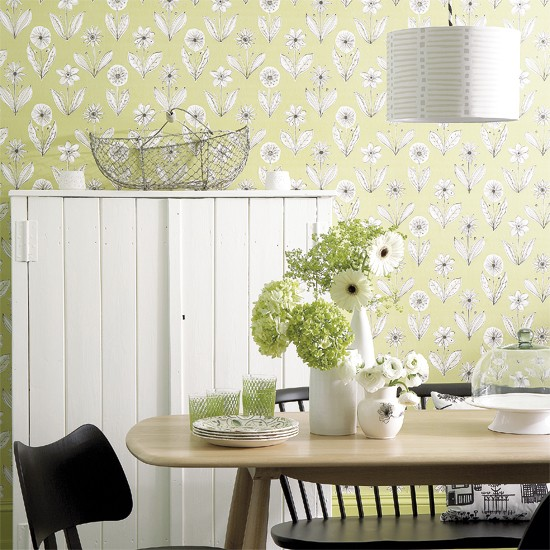 Pastel greens how to use green colour 5 ideas for Pastel dining room ideas