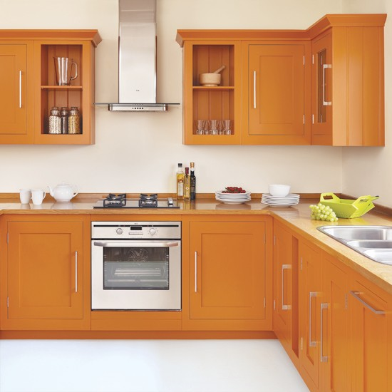 5 ways with yelows and oranges Orange and yellow kitchen ideas
