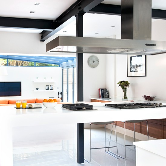 Modern Graphics Kitchen Black And White Kitchens 10 Of The Best