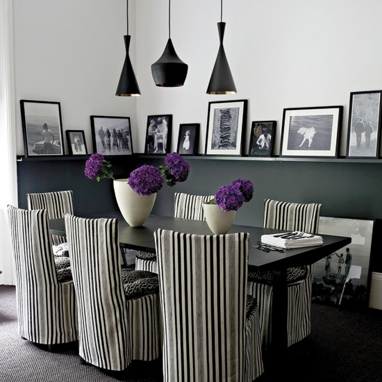 decorating with monochrome | interior colour schemes | black, white and grey | PHOTO GALLERY | Housetohome