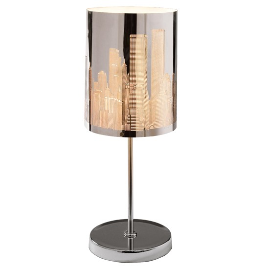 Cityscape table lamp from dwell bedside lamps 10 of for 10 best table lamps