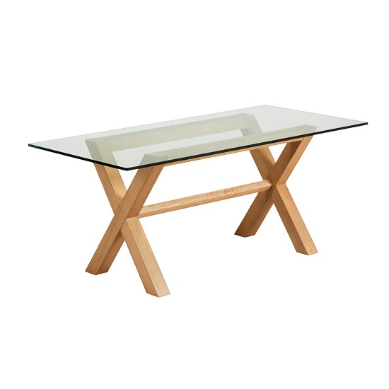 Cross Leg Table From Marks Spencer Dining Tables 10 Of The Best H