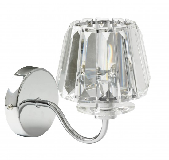 Laura Ashley Wall Lamp Shades : Capri chrome wall light from Laura Ashley Bedside lamps - 10 of the best housetohome.co.uk