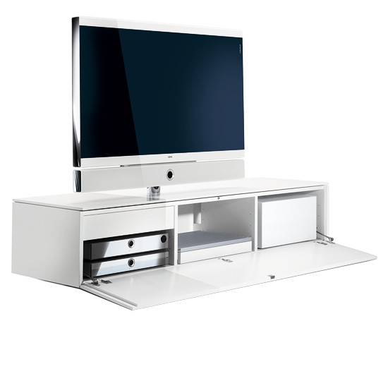 Individual rack integrated unit by Loewe from Premier Home Cinema | Living room furniture | PHOTO GALLERY | Homes & Gardens | Housetohome
