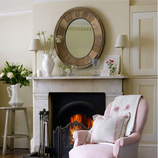Focus The Room With A Centrepiece Mirror Cosy Fireplace Ideas 10 Of The Best