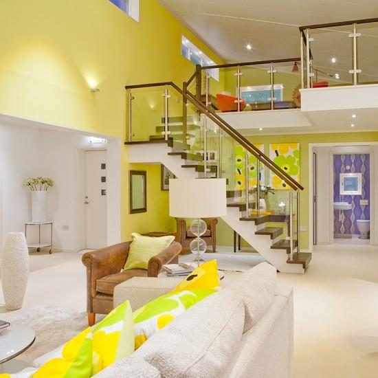 Take A Tour Around A Colourful Scandinavian Eco Home