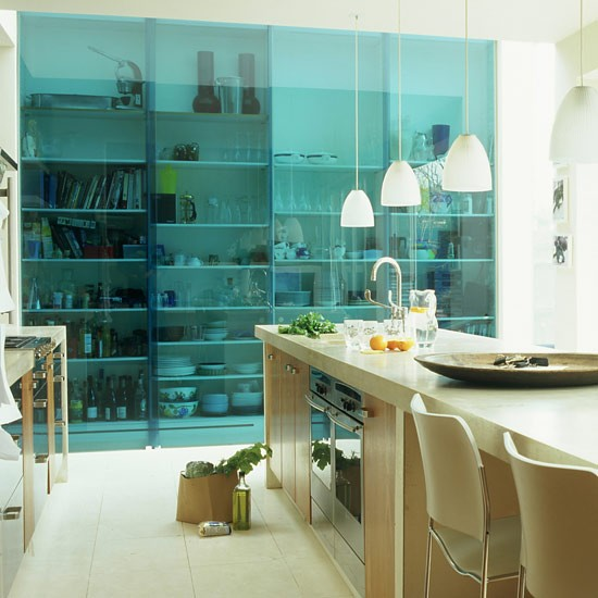 Coloured glass sliding doors | sliding door ideas | decorating details | PHOTO GALLERY | Housetohome