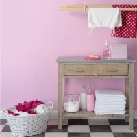 How to add colour to a utility room