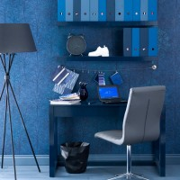 How to add colour to a home office