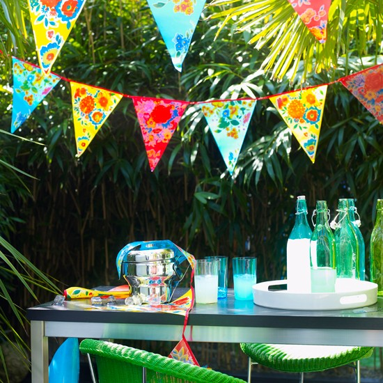 Get crafty with Oxfam's 'Beautiful Bunting' thrifty kit