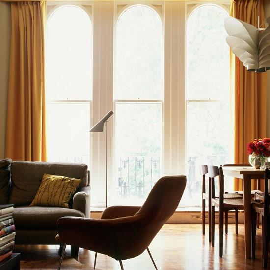 Open-plan living area | See inside a retro house | Retro design inspiration | House tour | PHOTO GALLERY | Housetohome