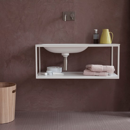Dusky pink bathroom modern bathroom for Tadelakt bathroom ideas