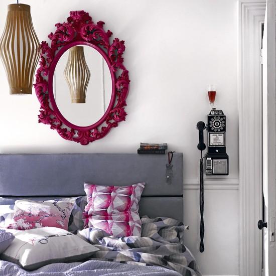 Grey And Pink Bedroom Modern Bedroom Housetohome Co Uk