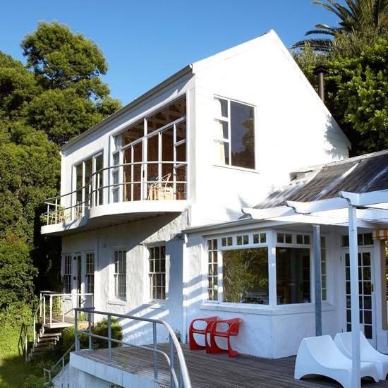 Exterior | Renovated 20th-century stone dairy | House tour