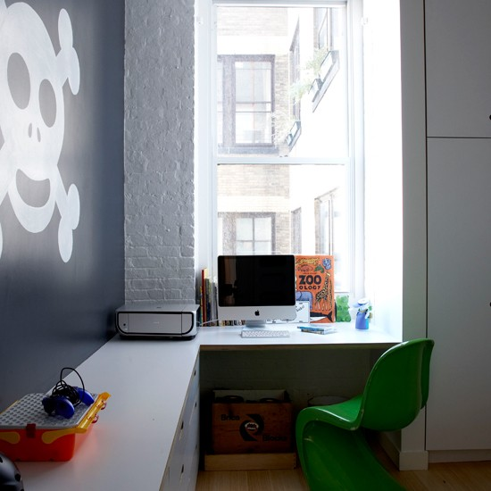 kids 39 home office new york loft apartment house tour modern
