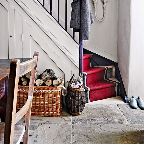 Rustic flagstones | Flooring ideas for hallways - 10 of the best ...