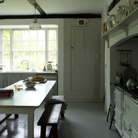 Kitchen | Cosy Georgian cottage house tour