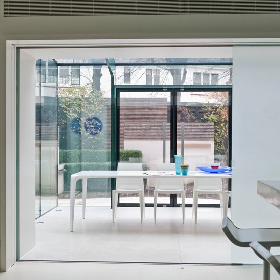 Open-plan Conservatory Dining Room