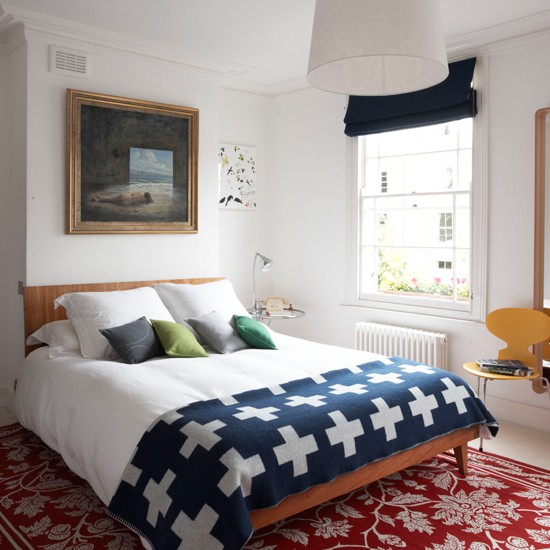 Bedroom | Colourful Georgian townhouse tour