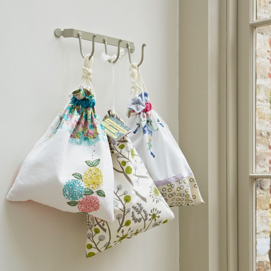Utility room peg storage | Country-style utility rooms | Utility room ideas | Laundry room ideas | Image | Housetohome