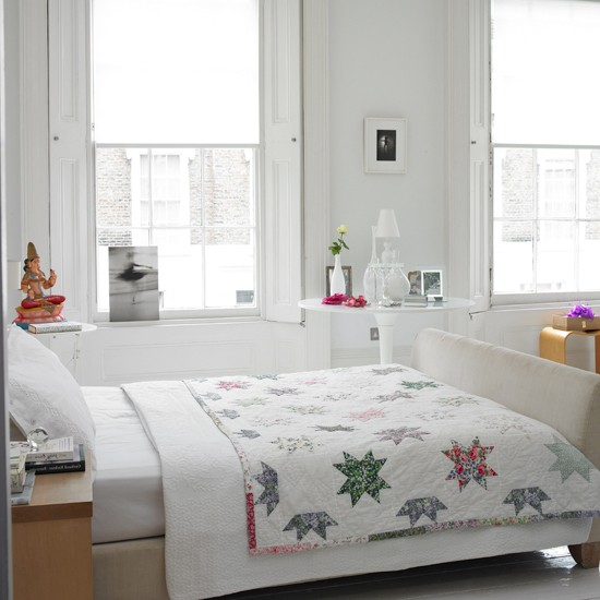 Calm airy master bedroom Take a