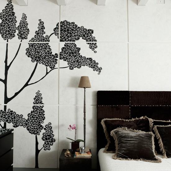 Bedroom | Slick attic apartment house tour