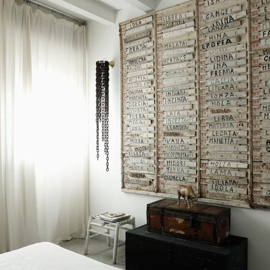 Bedroom storage | Slick attic apartment house tour