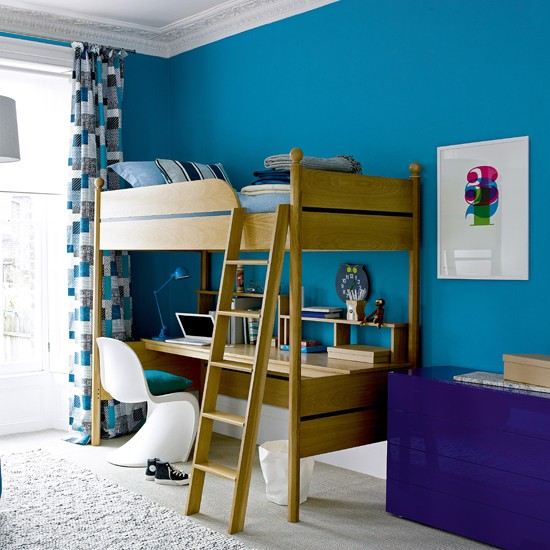 go for bold colour 10 kids bedroom ideas