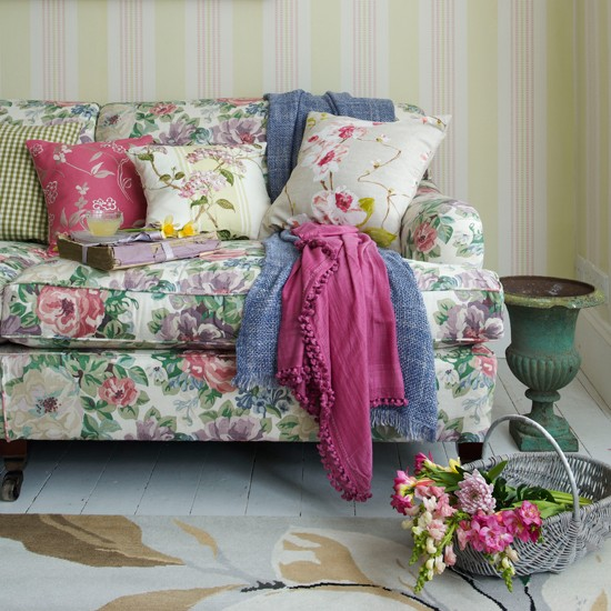 Colourful living room | Spring decorating trends | Image | Housetohome