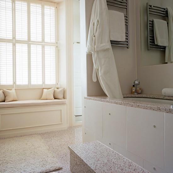 Luxe granite | Bathroom flooring ideas | housetohome.co.uk