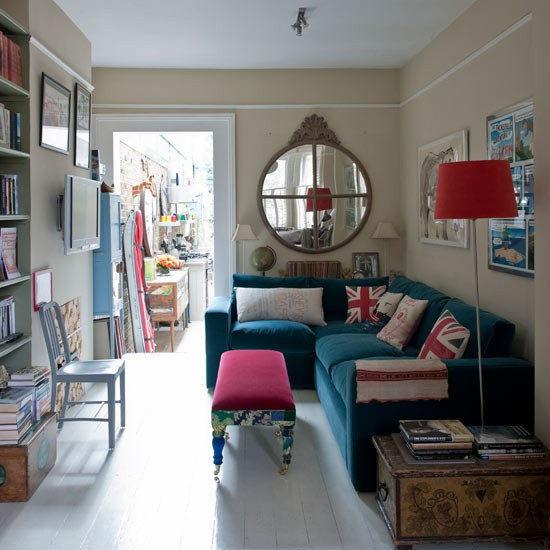 British-themed living room | Classic British schemes | Royal Wedding | PHOTO GALLERY | Housetohome