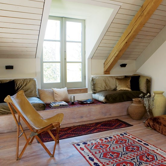 attic room take a tour around an eco friendly new build