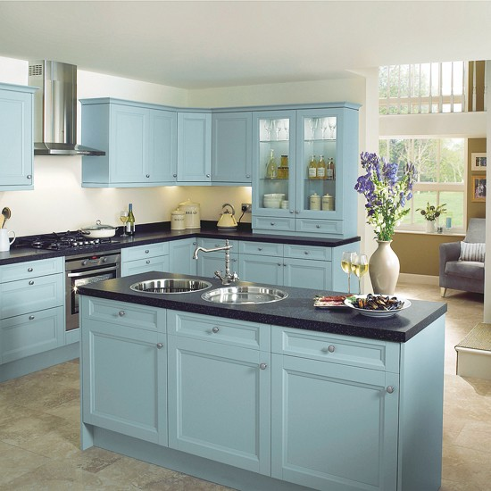 Arundel kitchen from homebase colourful kitchen ranges for Home base kitchen units