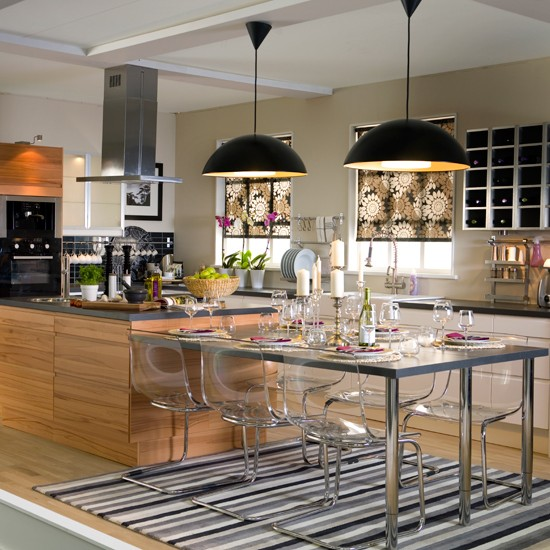 Kitchen Lighting Uk: Create The Ultimate Open-plan Kitchen In 10 Steps